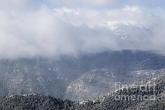 Steve Krull - Pikes Peak in Snow