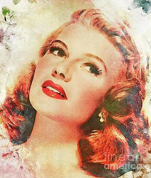 John Springfield - Rita Hayworth, Vintage Actress