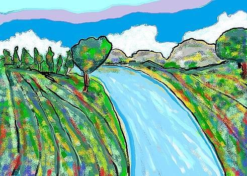 River by Van Winslow