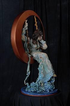 Sculpture for Dr. Wayne Martinson by Wayne Pruse
