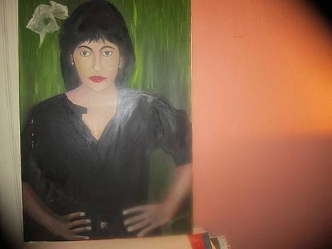 Self Portrait by Zeenath Diyanidh