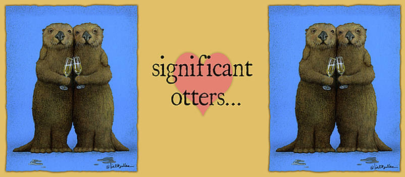 Will Bullas - significant otters...
