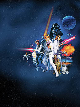 Star Wars Episode IV - A New Hope 1977 by Unknow