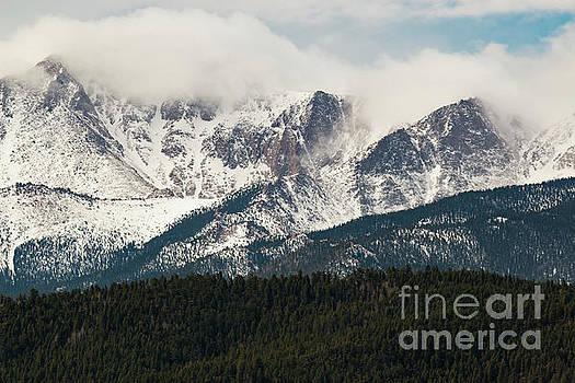 Steve Krull - Storm Clouds on Pikes Peak