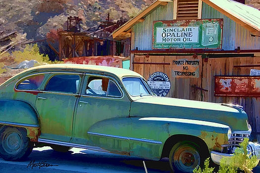 Techatticup Mine Ghost Town NV by Marti Green