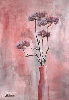 The Flowers In The Vase by Ewa Gawlik