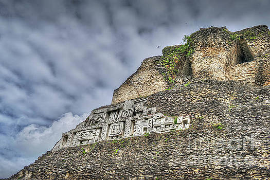 Xunantunich, Ancient Maya, archaeological site by David Zanzinger