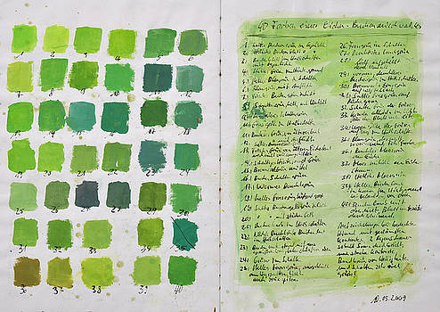Martin Stankewitz - 40 shades of spring greens in the woods