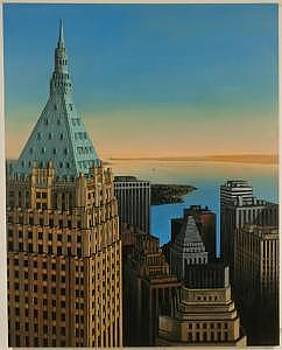 40 Wall Street In New York by Joseph Greenawalt