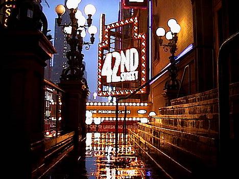 42nd Street by Jose Roldan Rendon