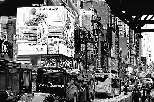 42nd Street NYC by Kevin Duke