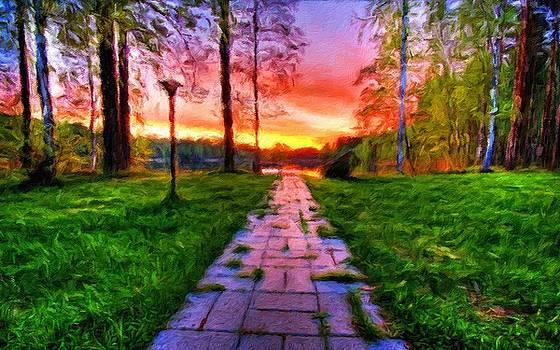 R G Landscape by Malinda Spaulding