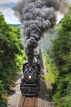 4501 Under Steam by Earl Carter