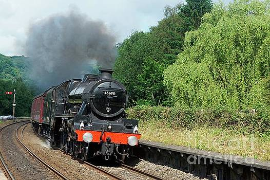 45690 Leander at Grindleford by David Birchall