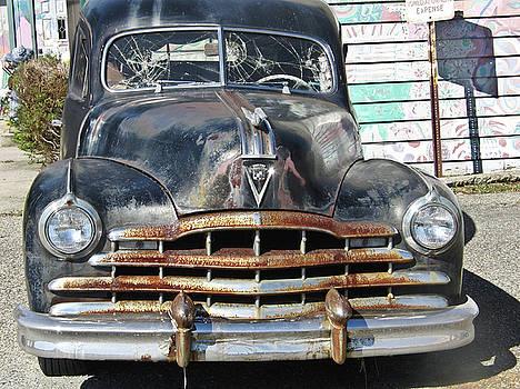 '49 Cadillac Hearse by Ruthanne McCann