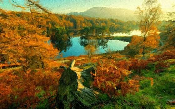 Plan E Landscape by Malinda Spaulding
