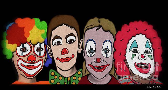 4Happy Clowns by Megan Dirsa-DuBois