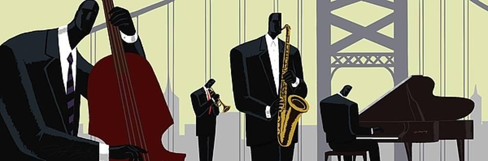 4th Street Bridge Quartet  by Darryl Daniels