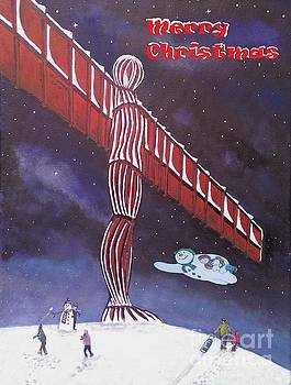 Angel of the North by Neal Crossan