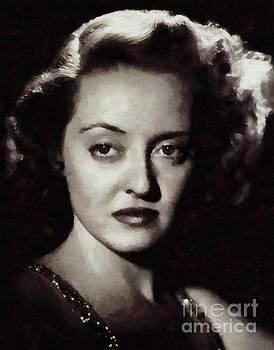 Mary Bassett - Bette Davis Vintage Hollywood Actress