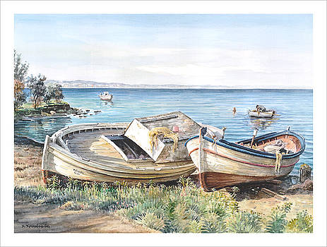 Boats by Haris Christodoulidis