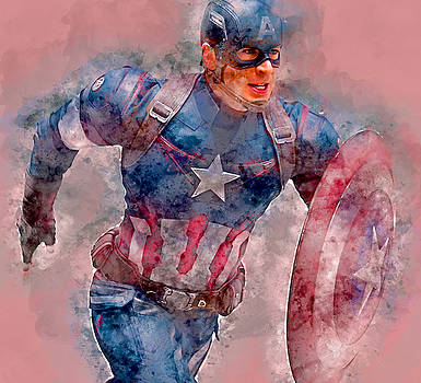 Captain America by Marvin Blaine