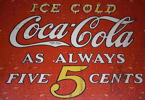 5 Cent Coca Cola by David Millenheft