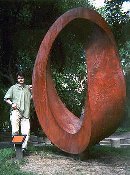 Double Mobius Strip by Plamen Yordanov