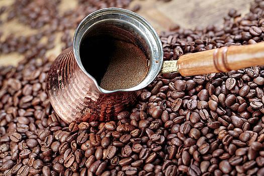 Fresh Roasted Coffe Beans by Nailia Schwarz