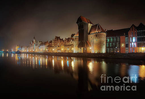 Mariusz Talarek - Gdansk at night