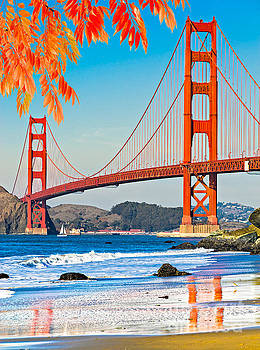 Golden Gate - San Francisco by Luciano Mortula