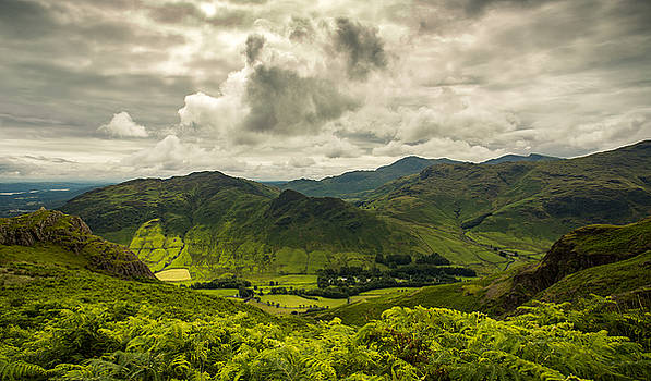 Great Langdale by Mike Taylor
