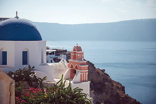 Eduardo Huelin - Greece Santorini island Oia village