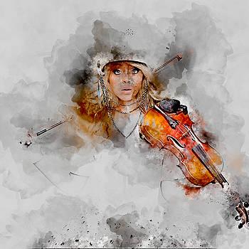 Lindsey Stirling by Marvin Blaine