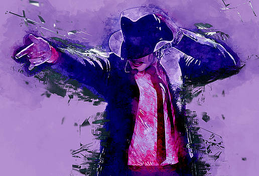 Michael Jackson by Marvin Blaine