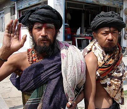 Anand Swaroop Manchiraju - NAGA SAINTS IN NEPAL
