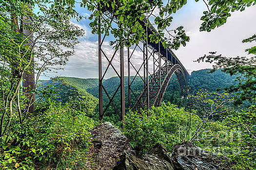 New River Gorge Bridge by Thomas R Fletcher