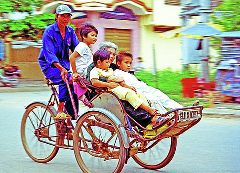 5 On A Cyclo Bike by Rich Walter