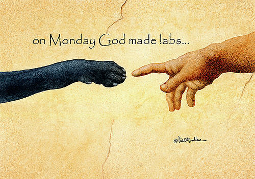 Will Bullas - on Monday God made labs...