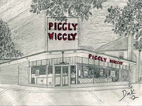 5 Points 1950's Piggly Wiggly by Dink Densmore