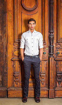Alexander Image - Portrait of Young American Businessman