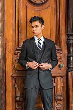 Alexander Image - Portrait of Young Indonesian American Businessman in New York