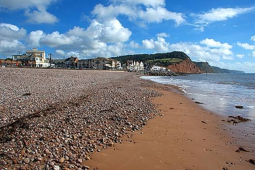 Sidmouth Beach by Chris Day
