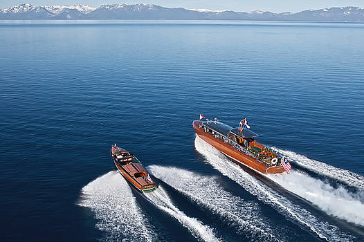Steven Lapkin - Iconic Thunderbird Yacht