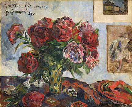 Paul Gauguin -  Still Life with Peonies