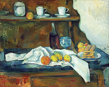 The Buffet by Paul Cezanne
