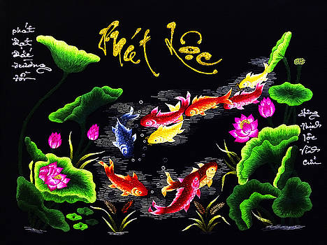 Vietnamese calligraphy by Tuan Ngo Minh
