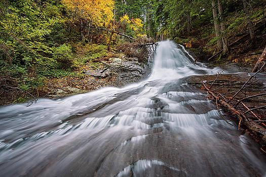 Waterfall by Evgeni Ivanov