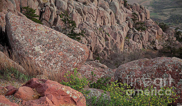 Wichita Mountains by Iris Greenwell