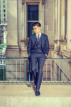 Alexander Image - Young Asian American Business Man in New York